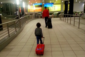 Our little globetrotter:)