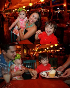 We celebrated Nicholas 2nd birthday at Green House restaurant.