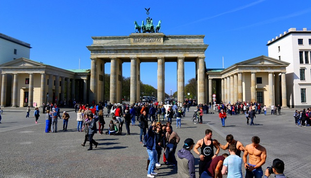 Brandenburg Gate - the symbol of unity