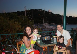 Dinner by the marina