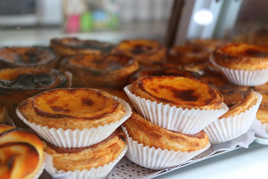 We had Portuguese Tart, everyone's favorite:)