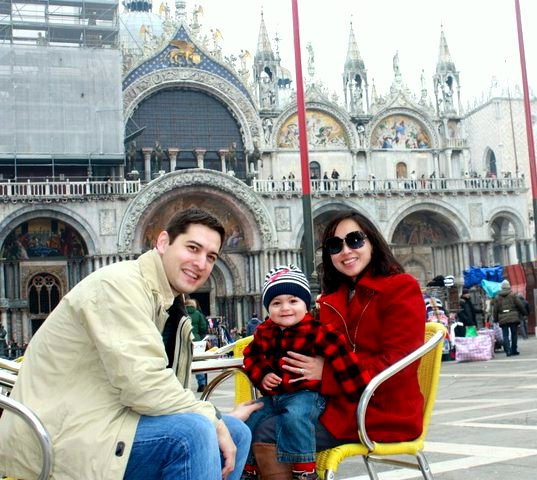 We made lasting memories in Venice with our boy...