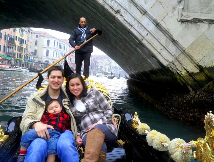 Gondola ride --- Just because we are in Venice!!!
