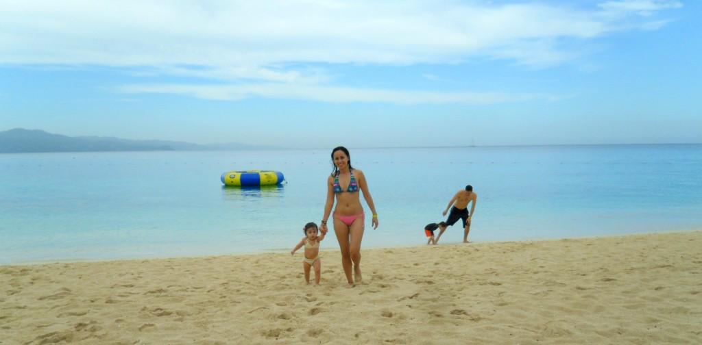 My family love the beach!!!