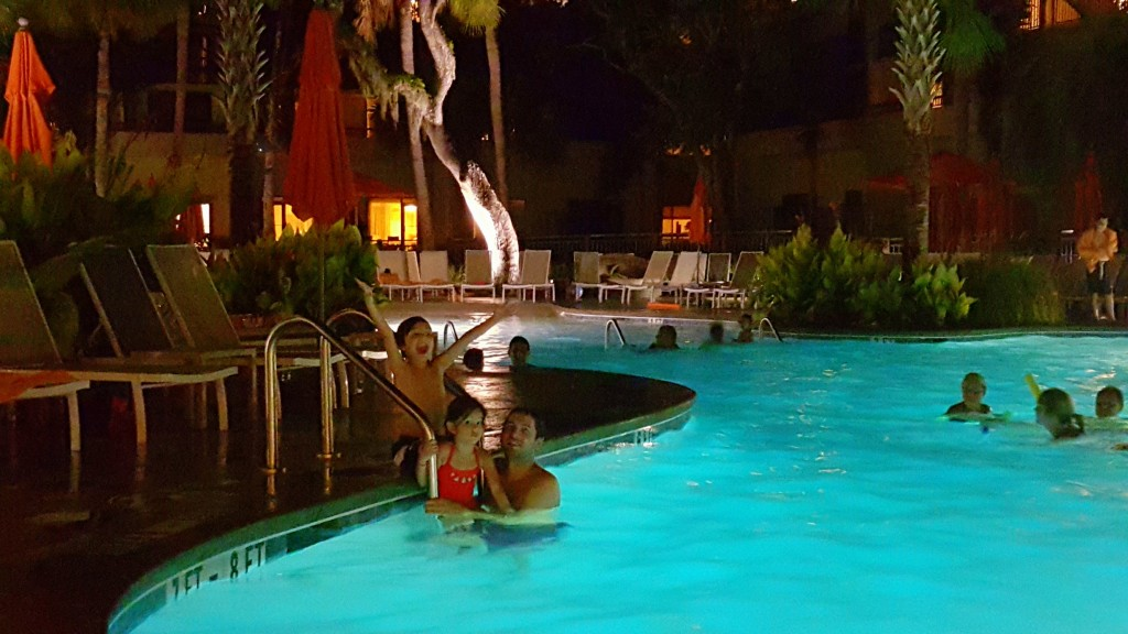 Night swimming is F.U.N.