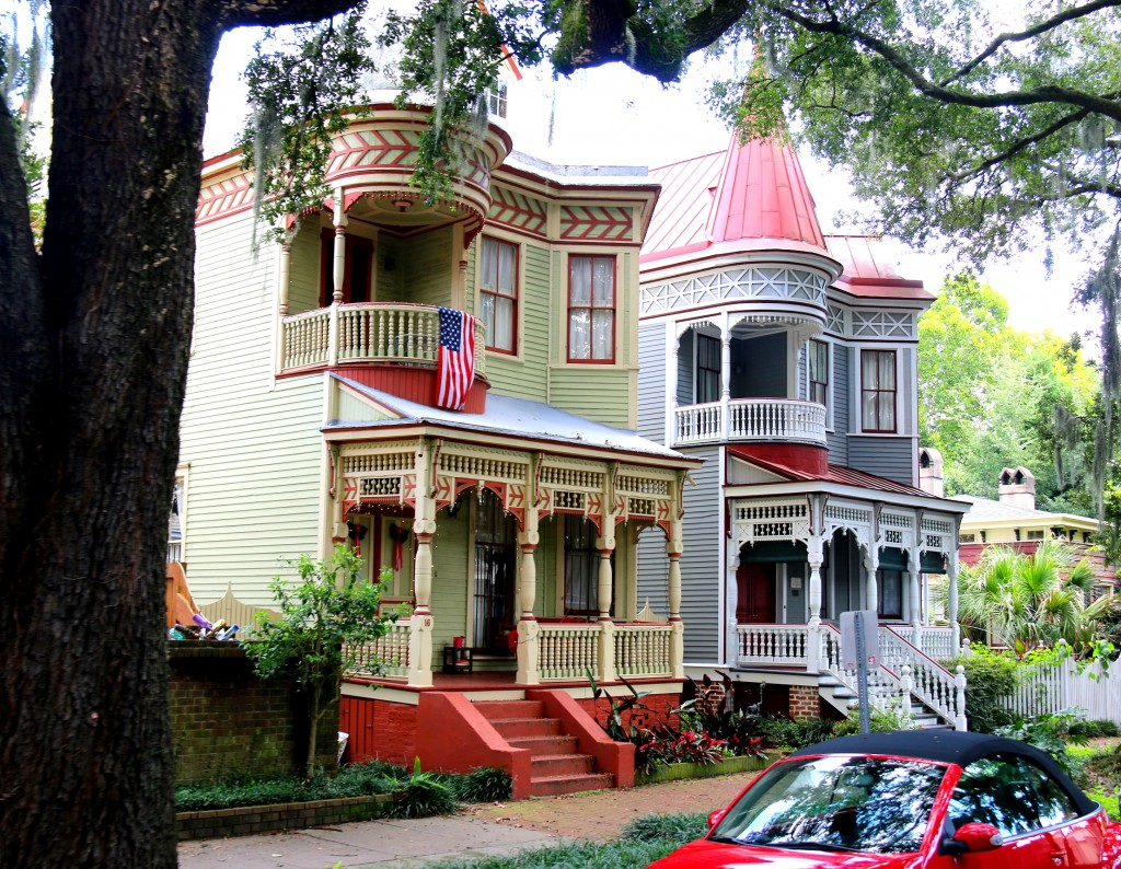 Charming homes at the historic district