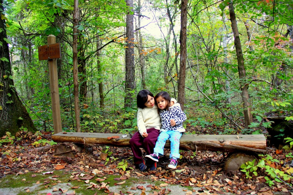 My Loves in the middle of the woods:)