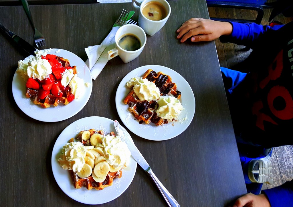 YES, this is NOT your ordinary waffles:) Sooooo yummy!!!