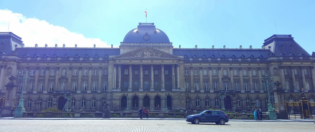 Royal Palace, shot is from the Park.