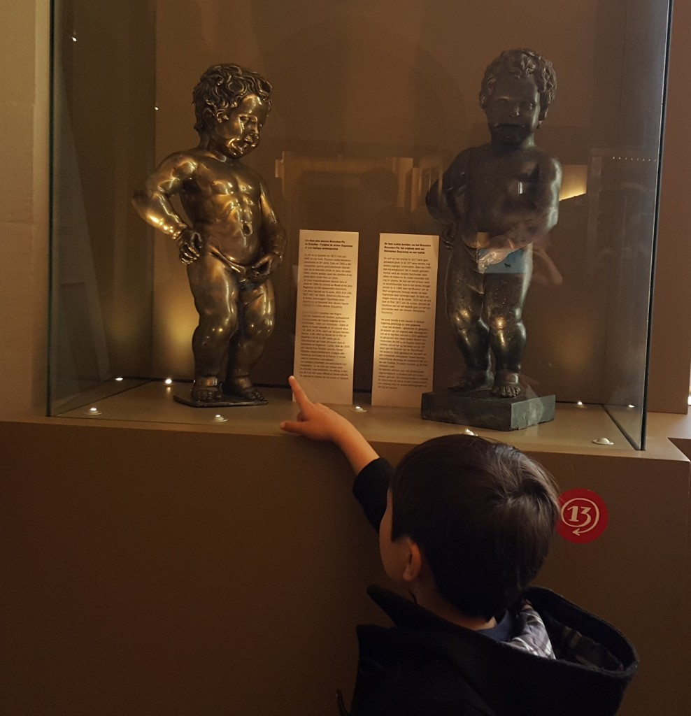Original restored version of Manneken-Pis