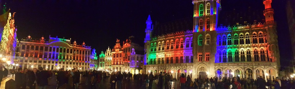 The Grand-Place is the central square of the City of Brussels
