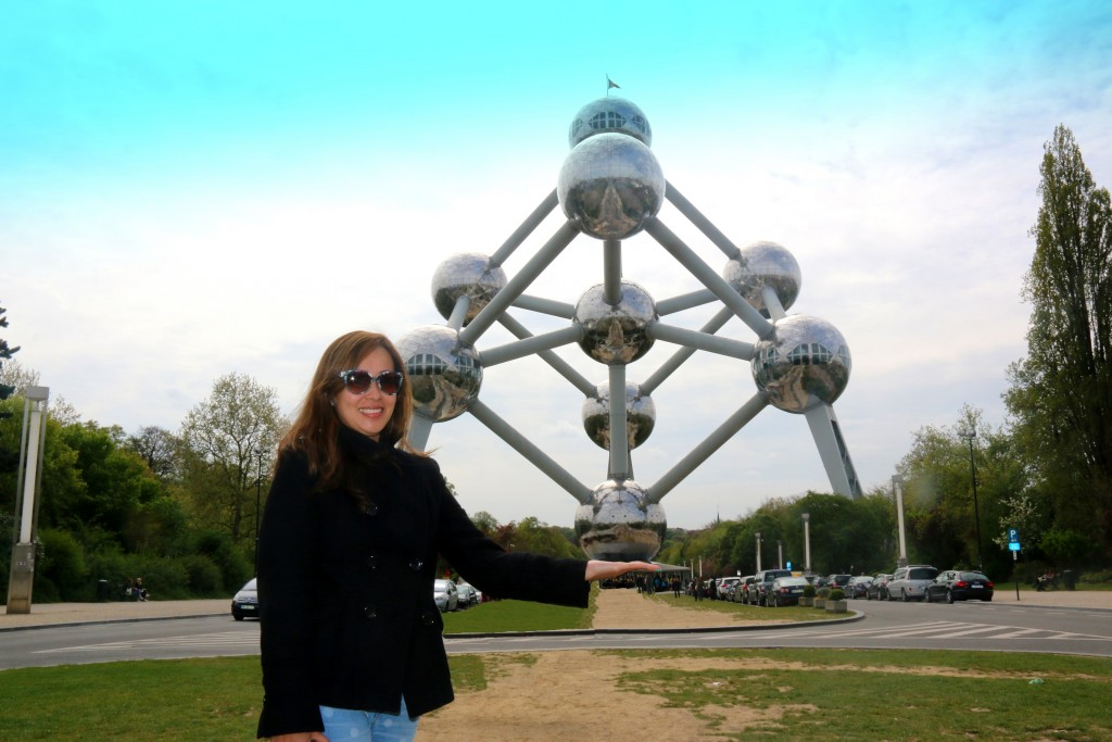 Atomium - symbol of Belgium